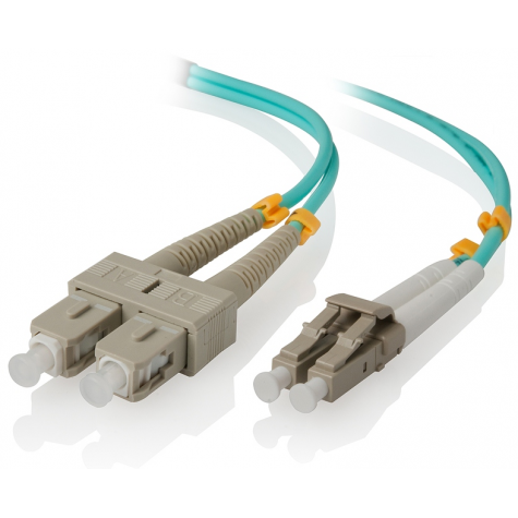 SC LC MM OM3 50/125 F/O PATCH CORD 1MT