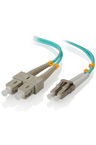 SC LC MM OM3 50/125 F/O PATCH CORD 2MT